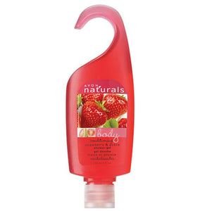 Avon Naturals Strawberry & Guava Shower Gel.