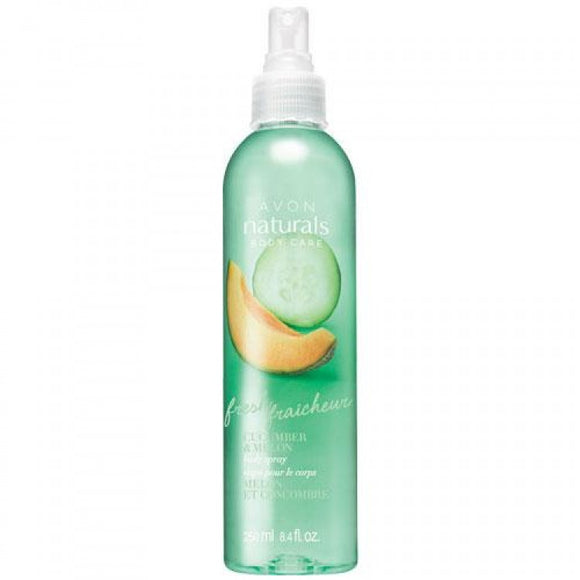 Avon Naturals Fresh Cucumber and Melon Body Spray.