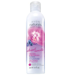 Avon Naturals Vibrant Orchid & Blueberry Body Lotion | 250ml