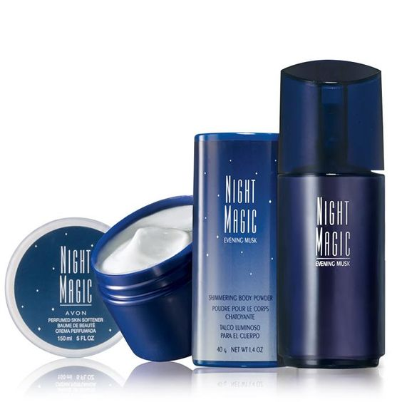 Avon Night Magic Evening Musk Fragrance Set.