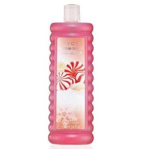 Avon Bubble Delight Winter Classics Peppermint Vanilla Bubble Bath 700ml.