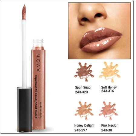 Avon Plump Pout Lip Gloss | Spun Sugar