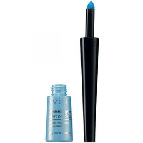Avon Precision Glimmer Powder Eye Shadow - Blue Flare