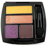 Avon True Color Eye Shadow Quad | Vibrant Spice