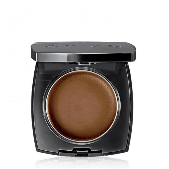Avon Ideal Flawless Invisible Coverage Cream-to-Powder Foundation | Dark Cocoa