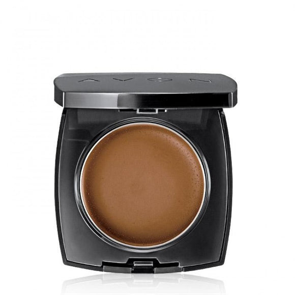 Avon Ideal Flawless Invisible Coverage Cream-to-Powder Foundation | Earth
