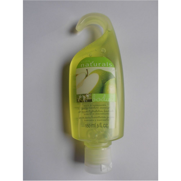 Avon Naturals Apple & Honeysuckle Shower Gel.