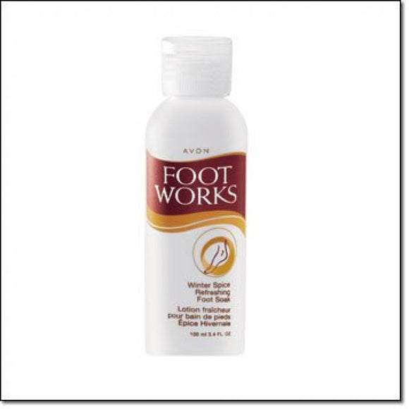 Avon Foot Works Winter Spice Refreshing Foot Soak