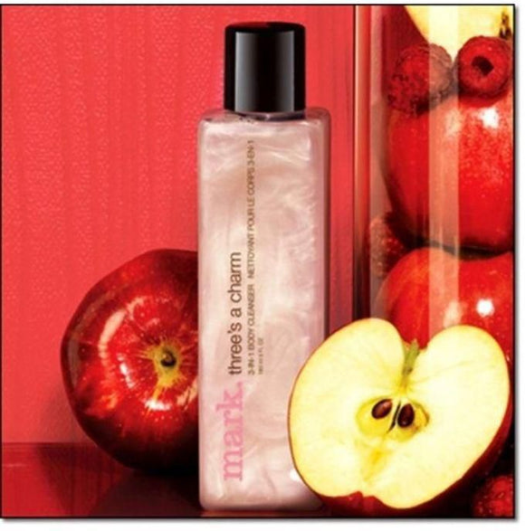 Mark. By Avon Three's a Charm Juicy Apple 3-in-1 Body Cleanser | 180ml
