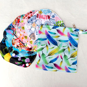 2x Reusable Panty Liners Set