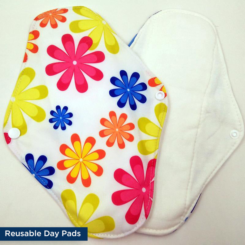 Reusable Panty Liners  Day Pads Set  Free Wet Bag -2818