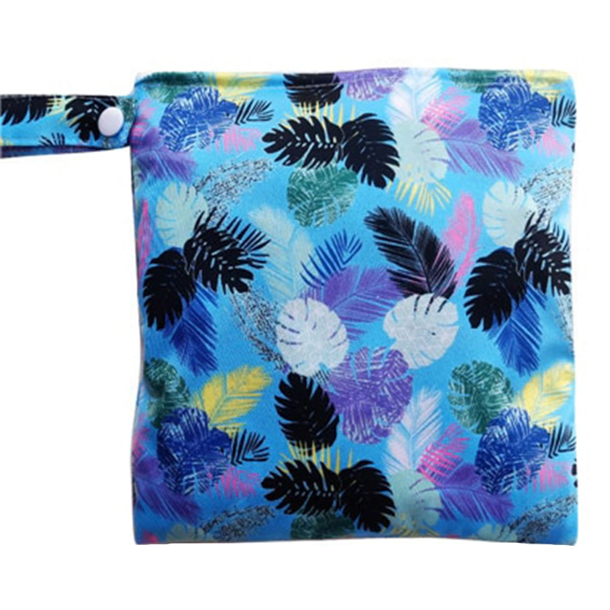Wet Bag for Cloth Pads (Multiple Patterns)