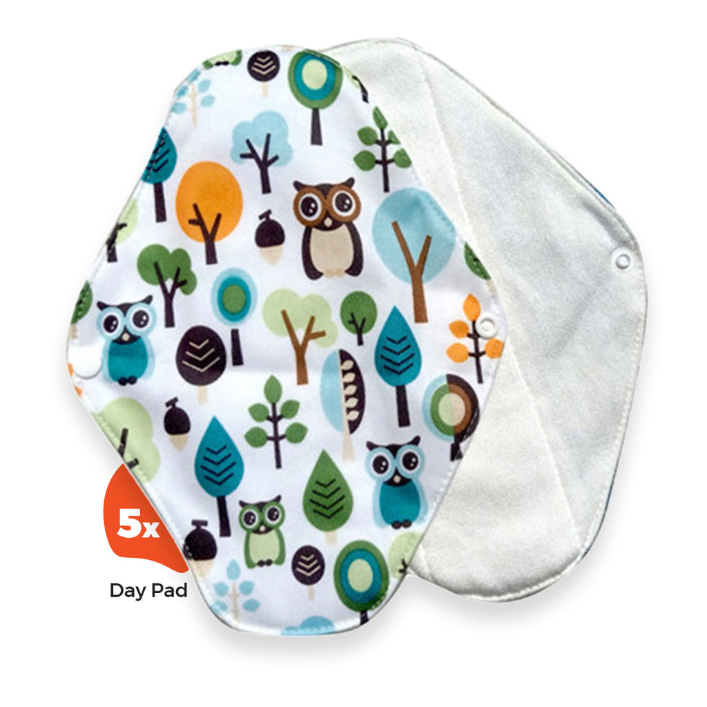 Reusable Day Pads Set (5-Pack)