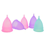Menstrual Cups (Set of 2 + FREE Wet Bag)