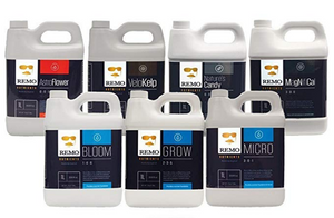 Remo Nutrients Supercharged Kit - 7 x 1L - CITYFARMERS