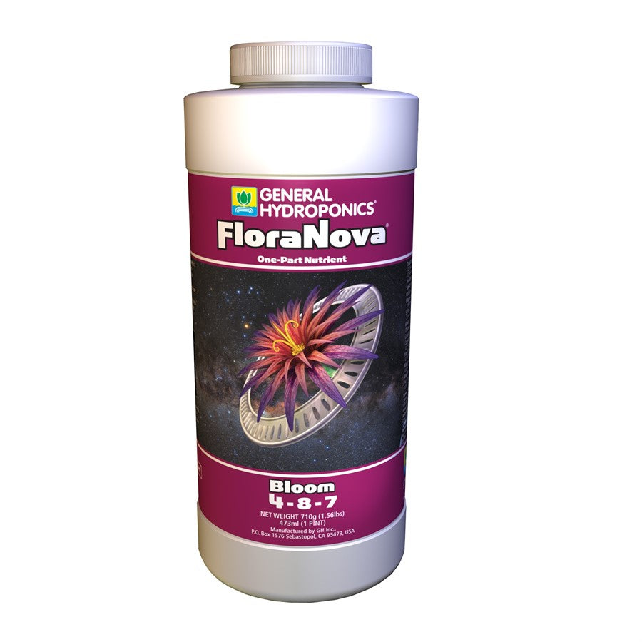 General Hydroponics FloraNova Bloom 473ml - CITYFARMERS