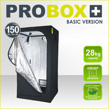 Estufa PROBOX 150 Basic GARDEN HIGHPRO 150x150x200cm