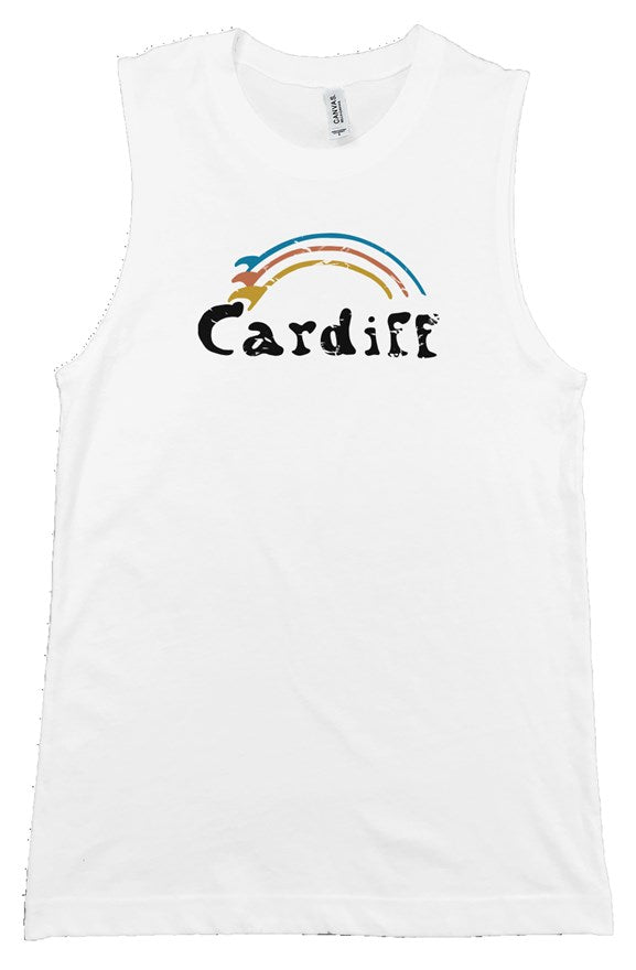 Women's Vintage Cardiff Surf-Bow Tank