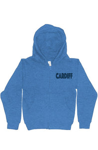 Be Bold Cardiff youth zip hoodie