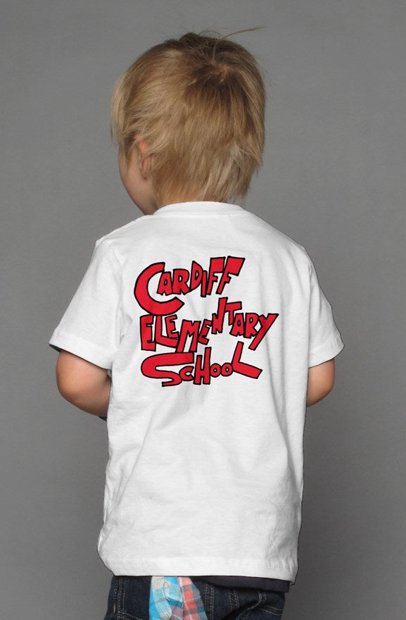 Kids Cardiff Surf Club T Shirt