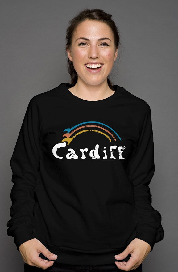 Adult Unisex Vintage Surf-Bow Sweatshirt
