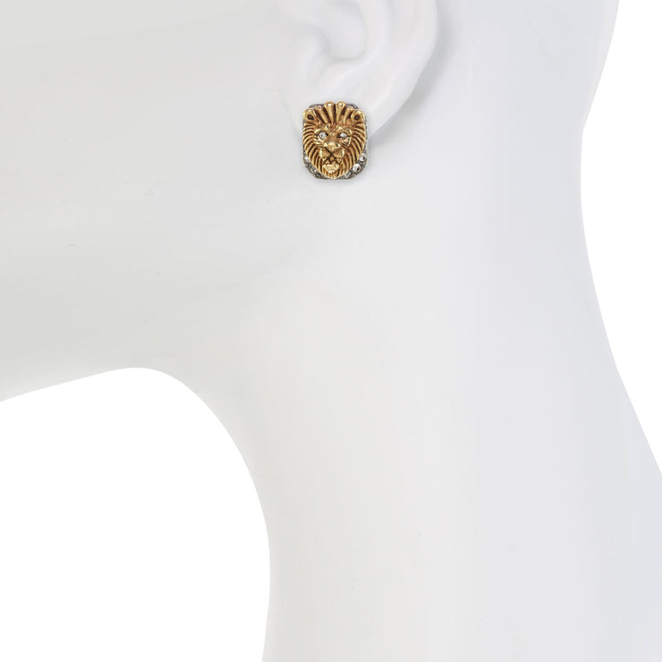 King of the Jungle Stud Earring