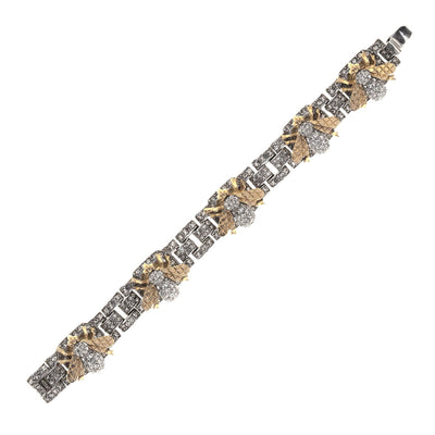 The Encrusted Bee Bracelet