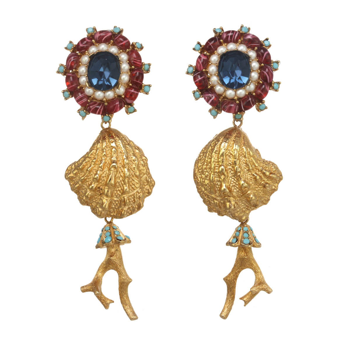 Coraline Statement Earrings Ciner Ny