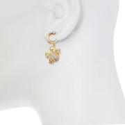 Cancer Charm Earring