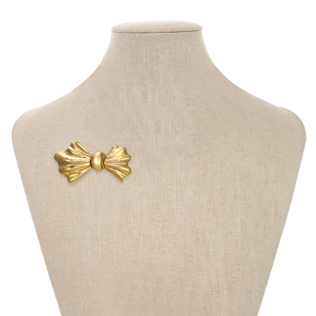 Gold Bowtie Pin