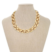 Gold Subway Necklace
