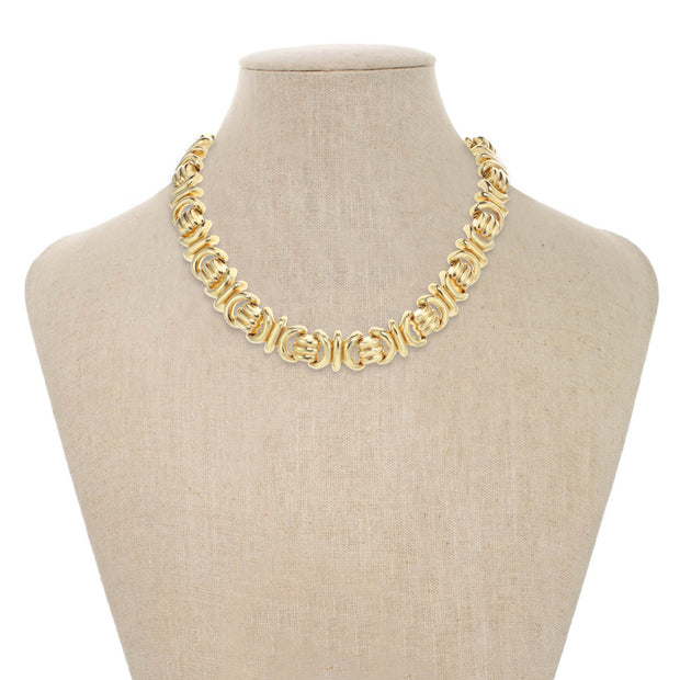 Gold Ionic Necklace