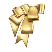 Gold Ribbon Pin