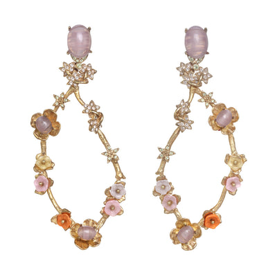 Vine Chandelier Earrings