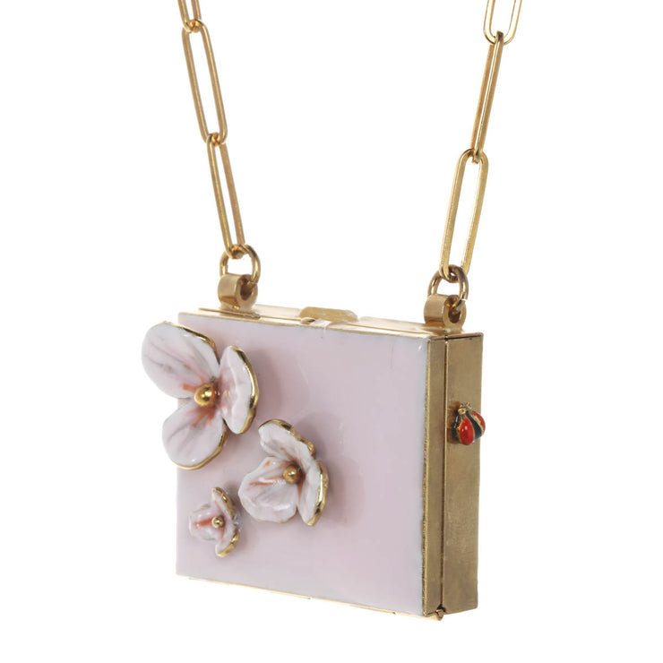 Scattered Flower Crossbody Bag