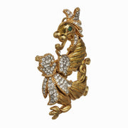 Gold Dragon Pin / Pendant