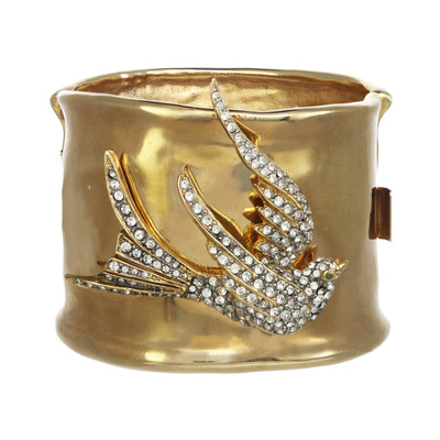 Crystal Dove Cuff