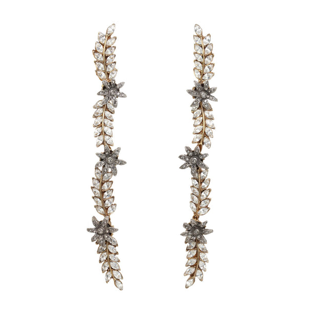 Ines x CINER Statement Vine Earrings