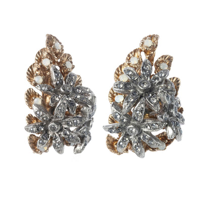 Ins x CINER Flower Cluster Earrings