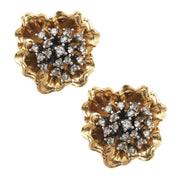 Golden Bloomer Earring