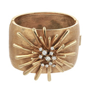 Golden Sputnik Cuff