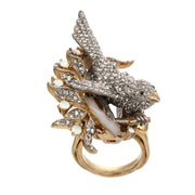 Ines x CINER Enchanting Bird Ring