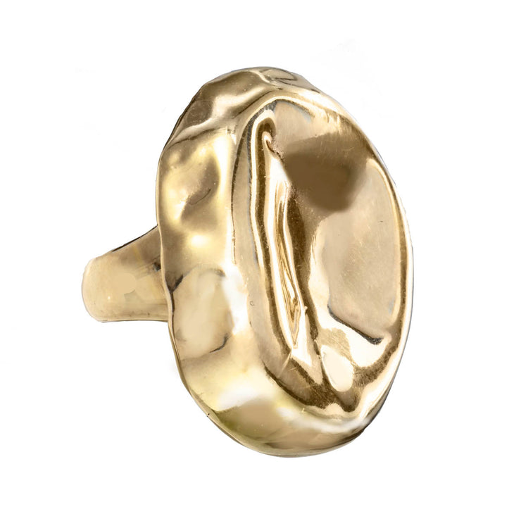 Sculpted Organic Ring