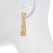 Organic Linear Earrings