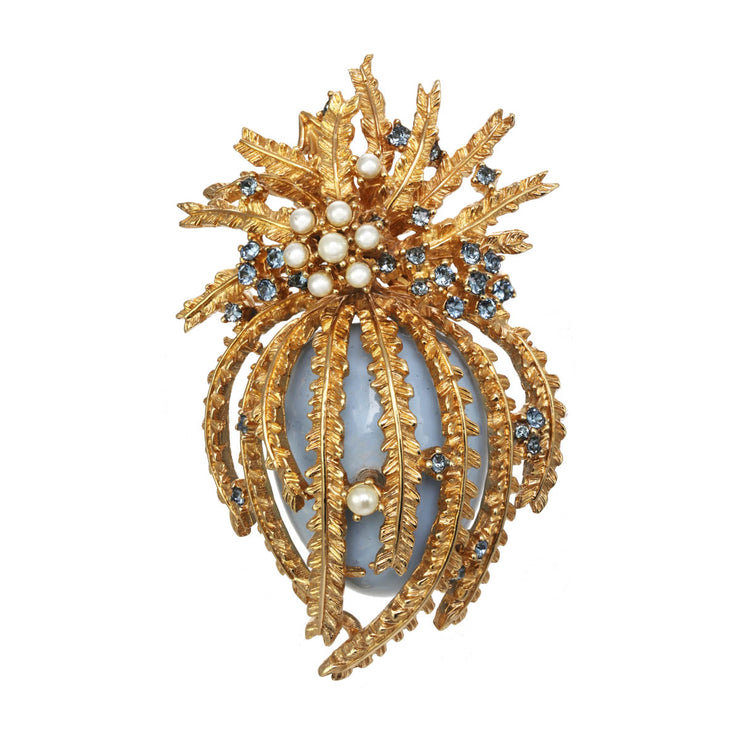 Regal Pineapple Pin