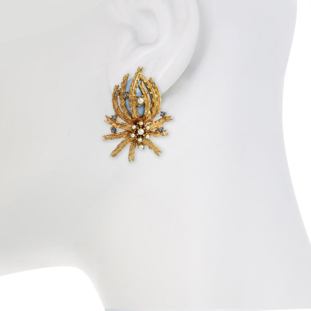 Regal Pineapple Earring