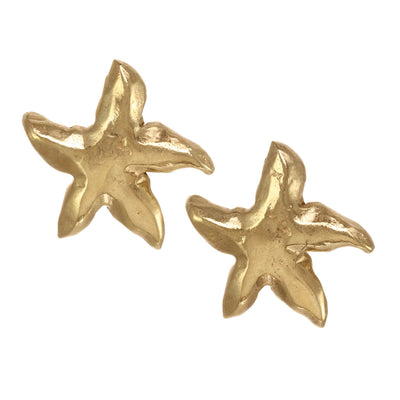 Natural Starfish Earrings