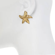 Natural Starfish Earring