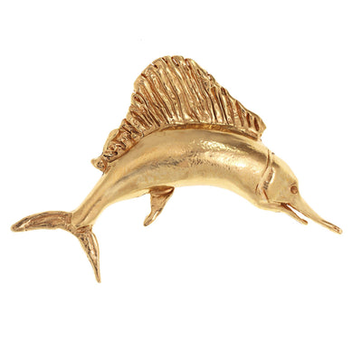 Natural Swordfish Pin