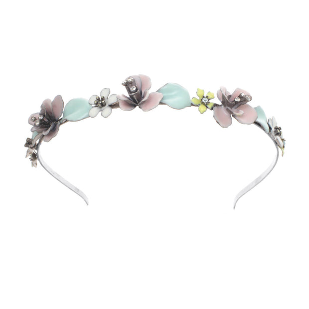 Narrow Flower Headband